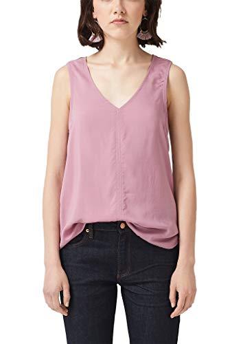 Q/S designed by - s.Oliver Damen 41.907.13.2660 Bluse, Rosa (Pink 4366), (Herstellergröße: 40)