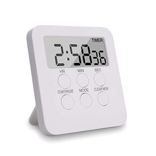 Temporizador de cocina digital magnético con temporizador d