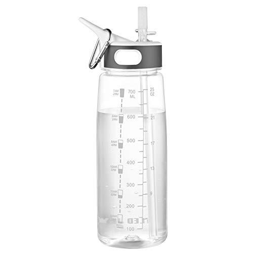 GHONLZIN Botella de Agua Deportiva 800ML
