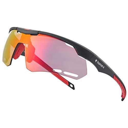 Horus X - Gafas de Sol Deportivas - Gafas de Sol con protecc