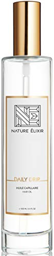 Nature Elixir DAILY DRIP - Weightless Hair Oil with UV Protection - Oil for Hair Dry I 3.4oz 100ml
