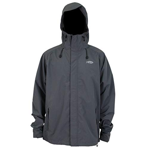 AFTCO Solitude 2.5L Waterproof Jacket (XL) Charcoal
