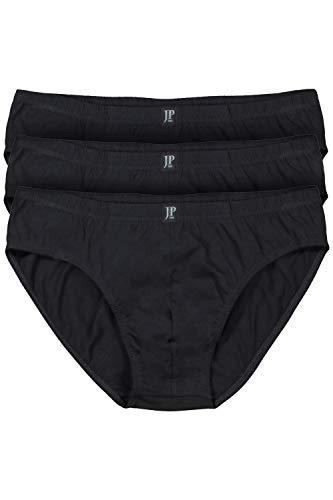 JP 1880   Sport-Slips   3er-Pack, klassischer Schnitt   bis Größe 18   schwarz 6 666667 10-6