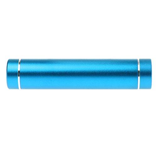 Huwaioury 18650 Akku DIY Power Bank Box mit LED Taschenlampe USB Ladegerät für Smartphone