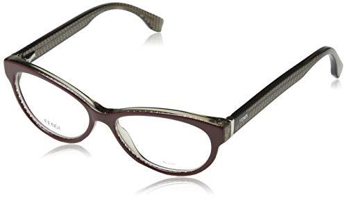 Fendi Brillengestelle FF 0109 0H1L Oval Brillengestelle 52, Braun