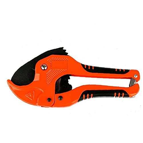 nJiaMe Tijeras de Herramientas de plástico Abrazadera de Pipa Heavy Duty PVC Pipe Tubo Tijeras Multi-funcionales Durable