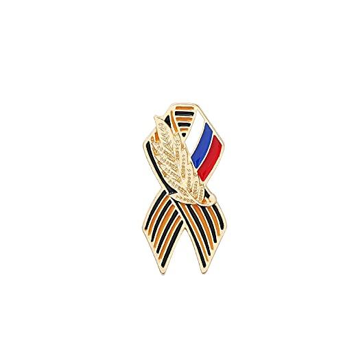 Russische Flagge Emaille Pin Broschen Schmuck Ahorn Memorial Geschenk für Freund