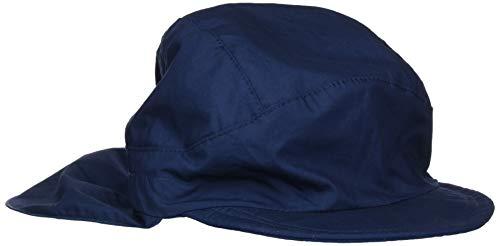 Sterntaler Schirmmütze mit Nackenschutz, Alter: ab 7 Jahre, Größe: 57, Blau (Marine)