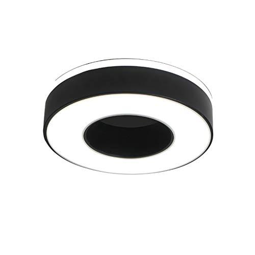 Plafón de Techo Luz de Techo LED Simple y Moderna, Luces de Pasillo, Luces de Pasillo, Luces de balcón, recibidores, lámparas Luz de Techo (Color : White Light)