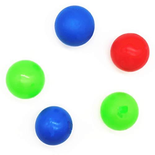 Giocattolo di Palline di Decompressione, 8 Pezzi Palla Antistress Decompression Toy, per Ansia ADHD OCD Autismo, per Bambini Adulti, Muti-colore Rosso Giallo Blu Verde