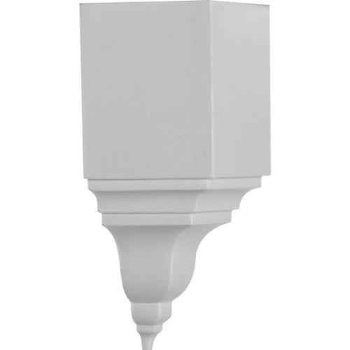 Ekena MIC03x 03BI 31/8-inch proiezione x 73/4-inch altezza angolo interno per profili modanatura inferiore 31/8-inch proiezione e 37/8-inch altez