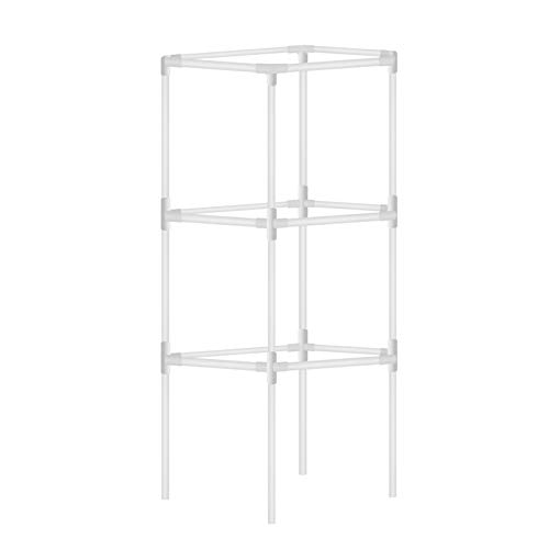 Garden Trellises Accessories Detachable Anti-Rust Plant Support,Single Stem Plant Support Ring, Plant Support Cages for Potted Plants, Tomato, Rose, Vine
