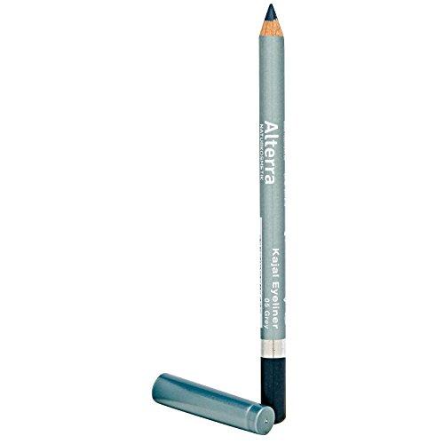 Alterra Kajal Eyeliner 1 Stück Farbe 05: Grey, ohne synthetische Konservierungsstoffe, Augen- & Kontaktlinsenverträglichkeit augenärztlich bestätigt, zertifizierte Naturkosmetik