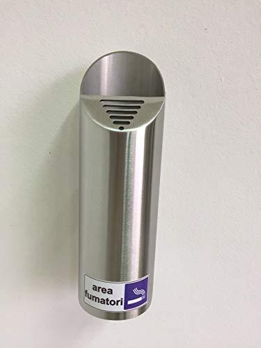 gris Inoxlm Rampe rectangulaire en acier inoxydable de 40/x 20/mm