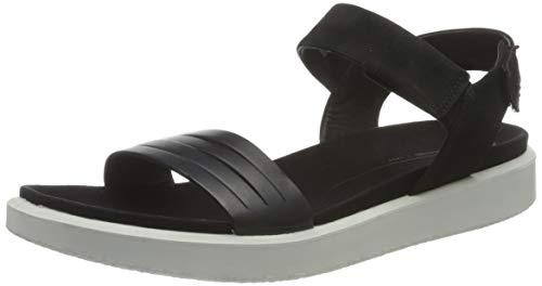 ECCO Damen Flowt Sneaker Flatform, Black, 43 EU
