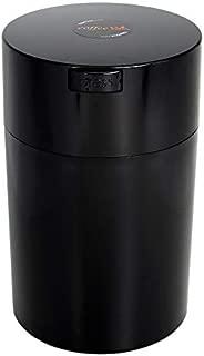 Coffeevac 1 lb - The Ultimate Vacuum Sealed Coffee Container, Black Cap & Body