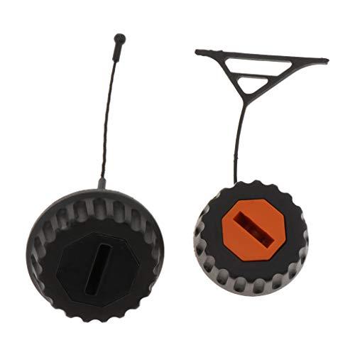 Baoblaze 2 Piezas de Motosierra con Tapa de Aceite para MS290 MS310 MS390 MS640