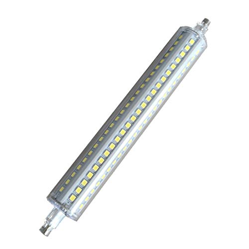 CHUI R7S Lineare Dimmbar LED Glühbirne 189mm,15W Äquivalent 100W Halogen Lampe,1500lm J189 Flutlicht Leuchtmittel Double Ended Energiesparlampen Lichter Rohr,AC 230V Warmweiß Kaltweiß,2PCS 4000K