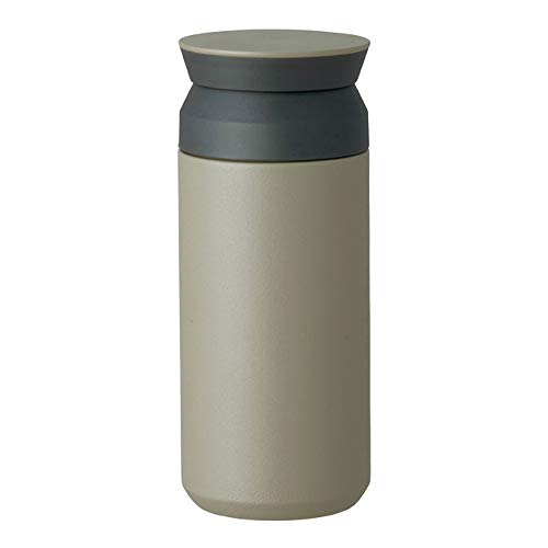 TRAVEL TUMBLER - Insulated Bottle (Khaki, Small)