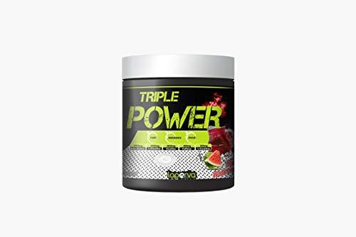 LAPERVA Triple Power Pre-Workout r Increase Physical Performance with Citrulline, Creatine, Beta Alanine, Caffeine Vitamin B Complex 30 Serving - Summer Watermelon Flavor