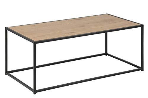 Amazon Brand - Movian Martin - Mesa de centro, 50 x 100 x 40 cm (largo x ancho x alto), efecto de roble