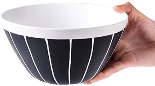Porcelana Premium Pintada a Mano Del Estilo De La Tinta Ensalada Tazón Nórdica Creativo Tazón Grande Inicio Plato De Cerámica Plato De Sopa De Fideos Tazón Tazón Ensaladera Regalo Del Cuenco De Fruta