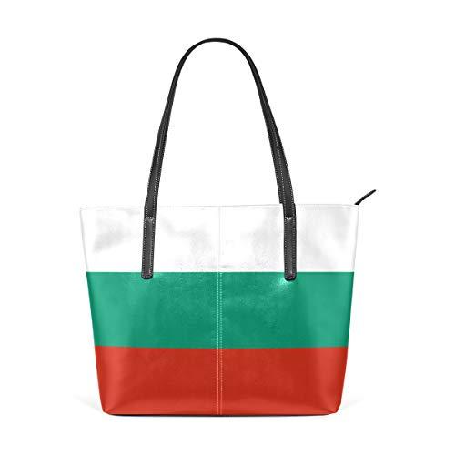 FANTAZIO Handtasche Umhängetasche Flagge Bulgariens