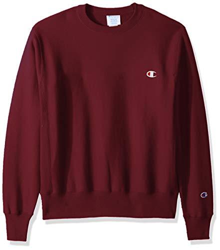 Champion LIFE Men's Reverse Weave Sweatshirt,mulled berry,SMALL