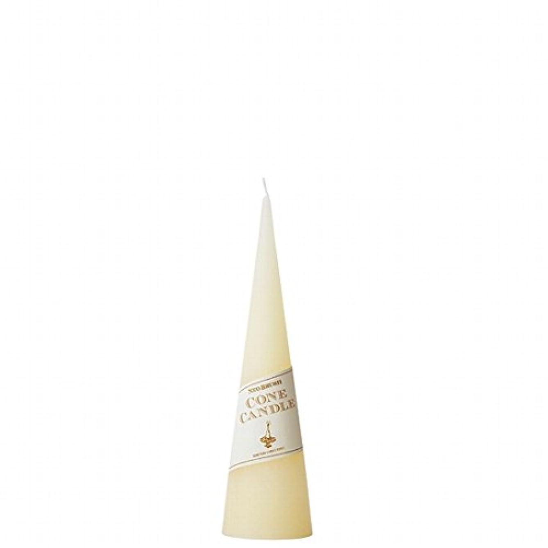 コーナー恥ずかしさピアニストkameyama candle(カメヤマキャンドル) ネオブラッシュコーン 180 キャンドル 「 アイボリー 」(A9750010IV)