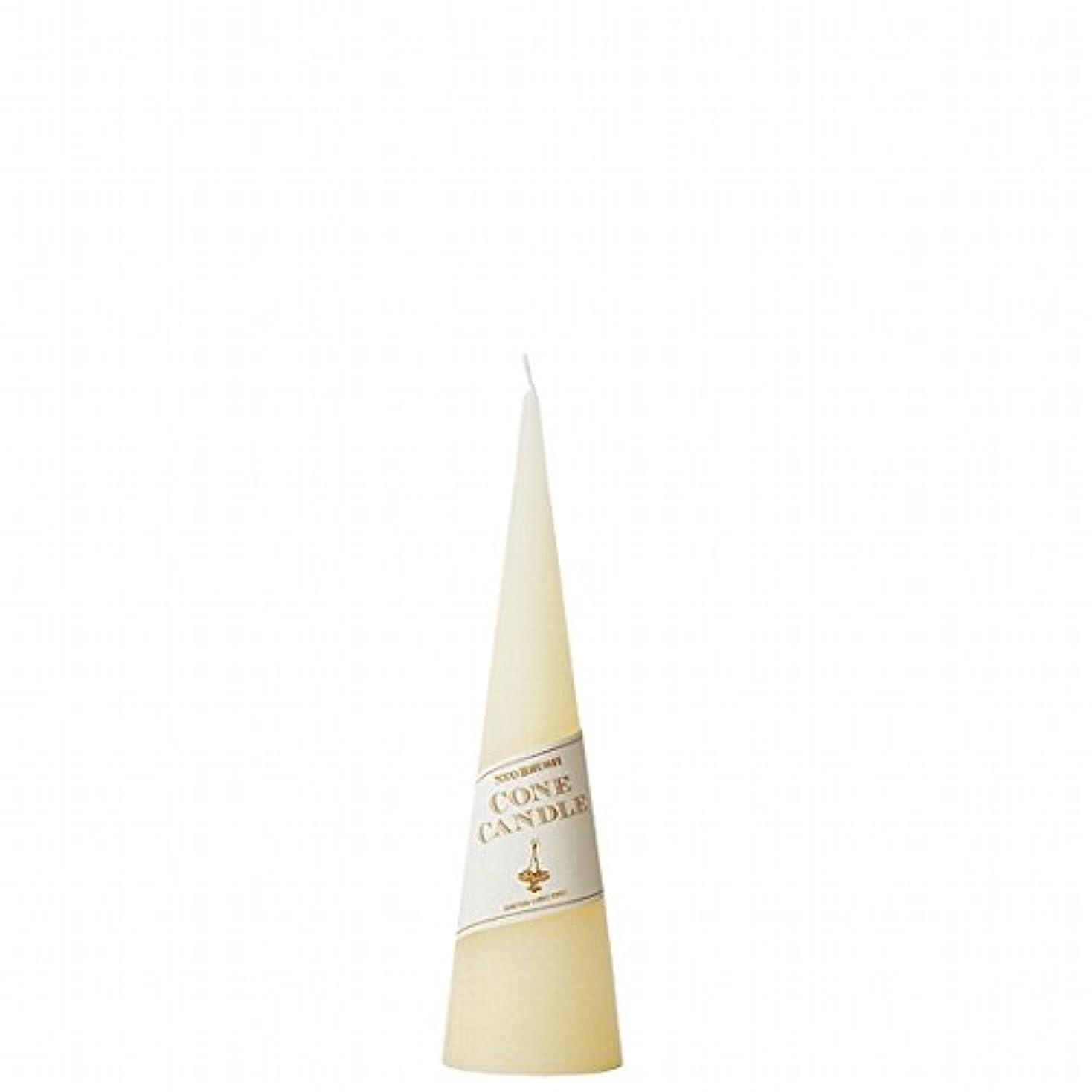 確執取り出す系統的kameyama candle(カメヤマキャンドル) ネオブラッシュコーン 180 キャンドル 「 アイボリー 」(A9750010IV)