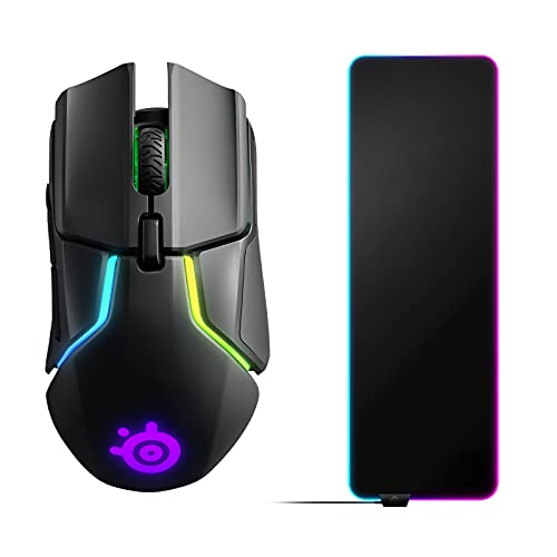 mouse pad steelseries Steelseries Rival 650 Quantum Wireless Mouse Da Gioco