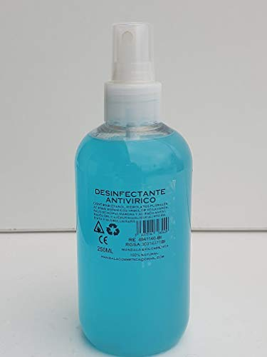 SPRAY ANTIVIRICO DESINFECTANTE 250ML CAJA 20 UNIDADES
