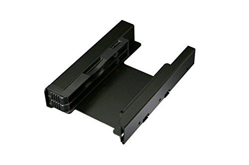 ICY DOCK Einbaurahmen für 2X 2,5 Zoll (6,4cm) SSDs/HDDs in 1x 3,5 Zoll (8,9cm) - Vollmetall EZ-Fit Pro MB082SP