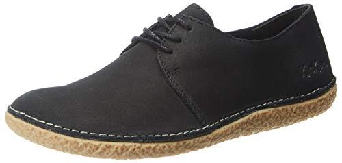 Kickers Holster, Zapatos de Cordones Derby para Mujer, Negro (Noir 8), 36 EU