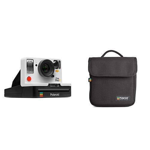 Polaroid Originals - 9008 - Neu One Step 2 ViewFinder Sofortbildkamera - weiß &  Originals Instant Kameratasche Schwarz