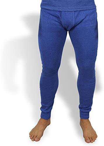 normani Sehr warme Thermo Unterwäsche Unterhose Lang Farbe Blau Größe 7=M