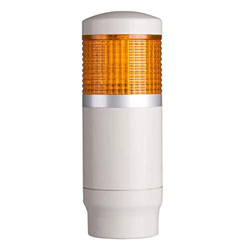 PMEF-101-Y, Tower Light, 45mm LED 1 Stack, Flash, 12VAC/VDC, Yel