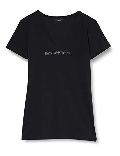 Emporio Armani Underwear Damen T-SHIRT, Schwarz, M