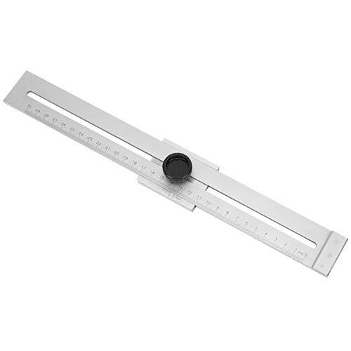 Parallel Lineal Edelstahl Holzbearbeitungswerkzeug für die präzise Abgrenzung von Jobs Büro Schulbedarf 0-300MM