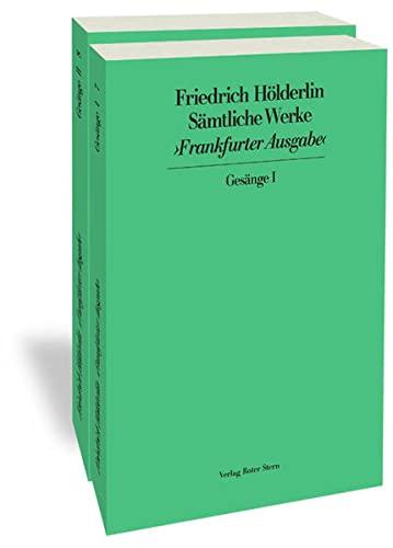 Frankfurter Ausgabe (FHA). Historisch-Kritische Ausgabe: Band 7/8: Sämtliche Werke. Gesänge I und II (zusammen im Schuber)