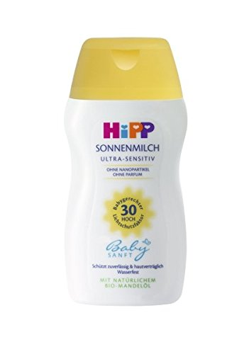 HiPP Babysanft Sonnenmilch Mini, 4er Pack (4 x 50 ml)