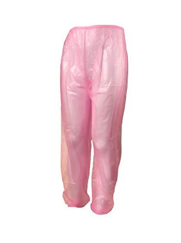 Haian Damen Hose blau transparentes pink X-Large