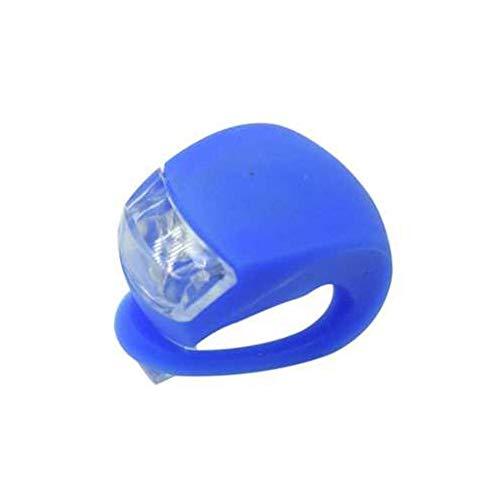 LED Fahrrad Licht Silikon Fahrrad Lampe Kopf Vorder- und Hinterrad LED Blitz Wasserdicht Radfahren Warnung