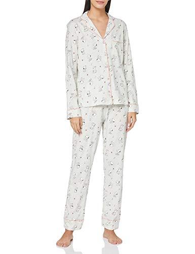 Women' Secret 3138186 Pajama Set, Turquesa, XL Womens