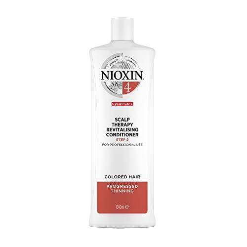 NIOXIN - Acondicionador Scalp Therapy Revitalizing - para Cabello Teñido muy Debilitado - Sistema 4 - Paso 2 - 1L