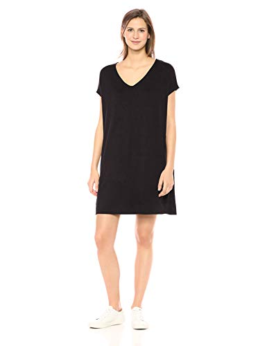 Amazon Brand – Daily Ritual Women's Supersoft Terry Dolman-Sleeve V-Neck Dress