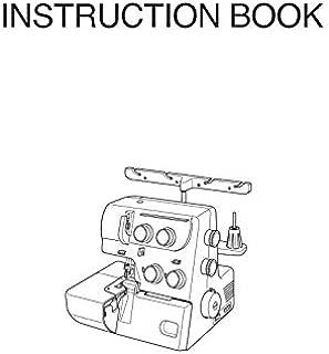 Janome Spare Part Magnolia 7034D Sewing Machine Overlocker Instruction Manual Reprint