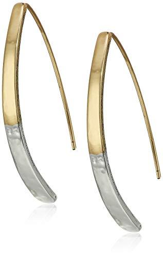 Chaps Women's Twotone Medium Threader Earrings, One Size