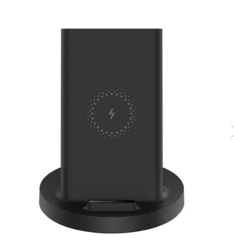 Xiaomi Cargador inalámbrico vertical de 20 W Max con carga de flash Qi compatible con múltiples soporte seguro horizontal para Mi 9 (20 W) MIX 2S