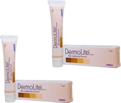 Cosmetic Dermolite Skin Lightening Cream (20 g) - Pack of 2